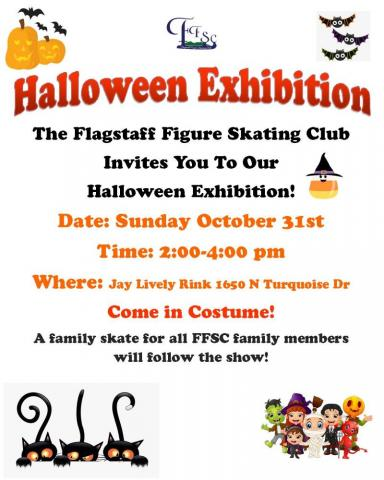 Halloween Exhibtion poster